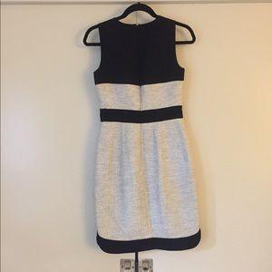 Banana Republic Dresses - Banana Republic Color Block Tweed Sheath Dress